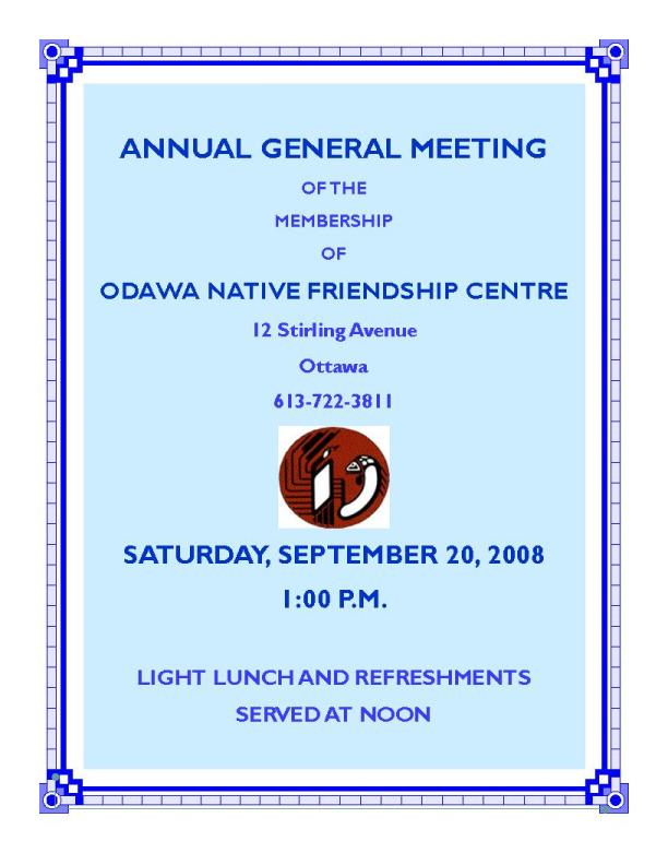 odawa native friendship centre