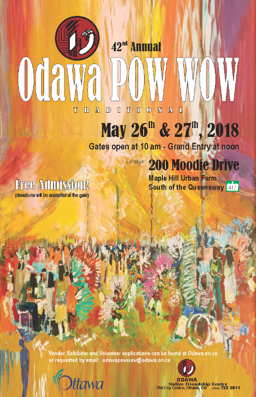 Odawa_Powwow-May.26.27.2018 Vendor Application Form For Event on